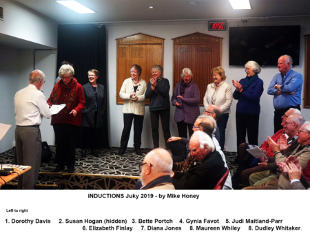 2019-07-05 Inductions